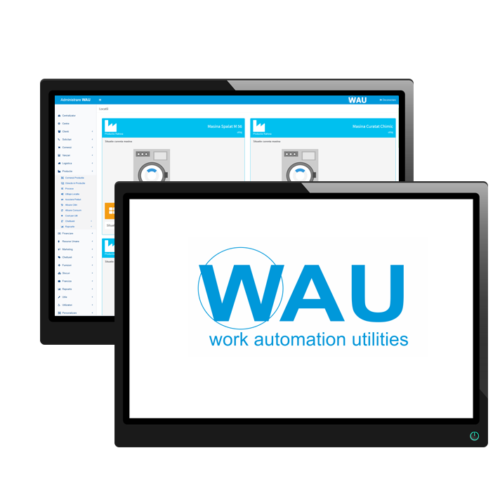WAU - Aplicatie Software Curatatorie